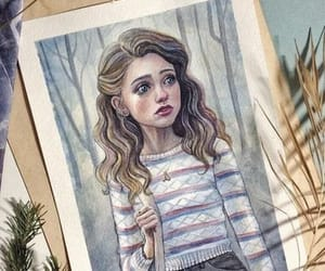 art, stranger things, and nancy wheeler image