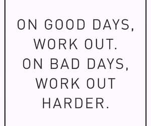quotes, workout, and inspiration image