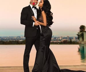 black, couple, and valentines day image