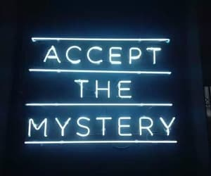 mystery, light, and neon image