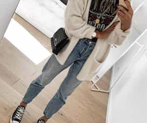 outfit, autumn, and converse image