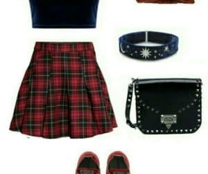 bag, black, and blue image