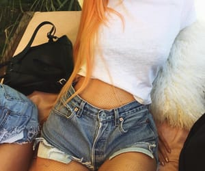 kylie jenner, coachella, and hair image