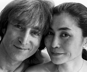 Yoko Ono and john lennon image