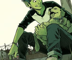 teen titans and beast boy image