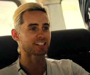 30 seconds to mars, blond, and jared leto image