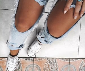 fashion, jeans, and girl image