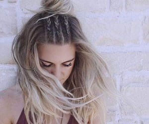 blondie, fashion style, and braid image