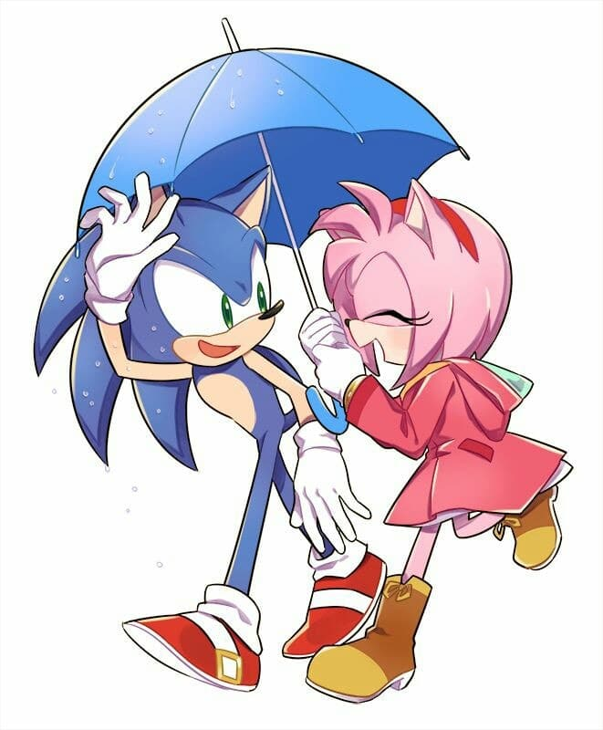 Sonic Y Amy Discovered By Wen Jaeger On We Heart It