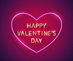 lights, neon, and valentine image