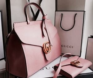 gucci, bag, and pink image