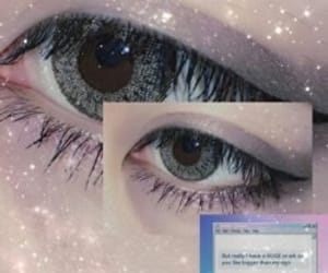 boy, eyes, and girl image