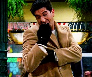 David Schwimmer, funny, and gif image