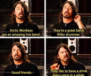 arctic monkeys and dave grohl image