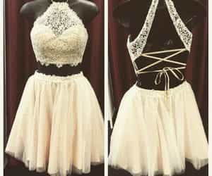 outfit, party dress, and prom dress image