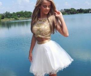 junior prom dress and 2 pieces dress image