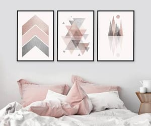 mountains, blush pink, and instant download image