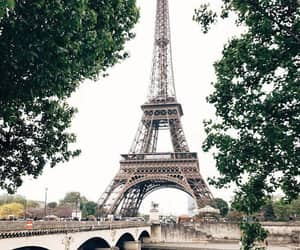 city, paris, and love image