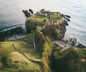 scotland, nature, and castle image