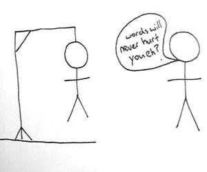funny, words, and hangman image