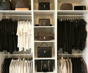 luxury, chanel, and closet image