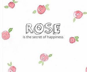 rose, happiness, and wallpaper image
