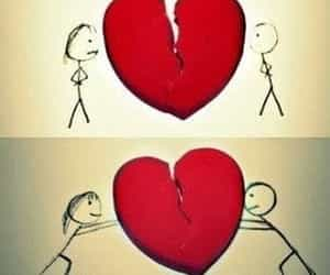 lovers broken fix and heart back together image