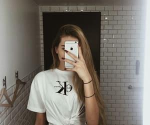 blonde, Calvin Klein, and girl image