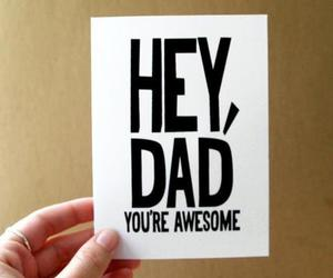 dad and awesome image
