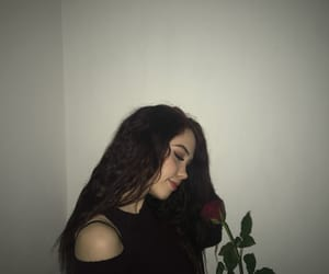 flower, pretty girl, and tumblr hair image