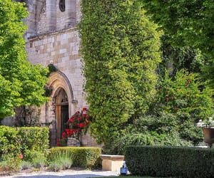 castle, provence, and vacation image