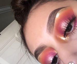 bronze, eyebrows, and makeup image