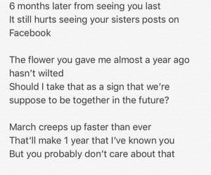 break, flower, and heartbreak image