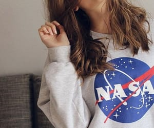girl and nasa image