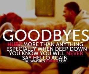 goodbye, hurt, and hello image