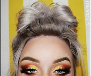 aesthetic, red, and smokey eyes image