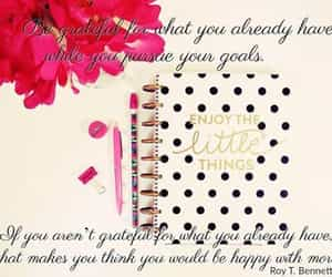 goals, enjoy the little things, and gratitude image