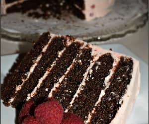 chocolatecake, chocolatedesserts, and multilayerdcake image