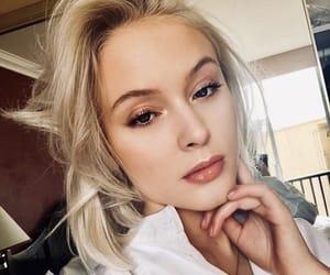 blonde, zara larsson, and girl image