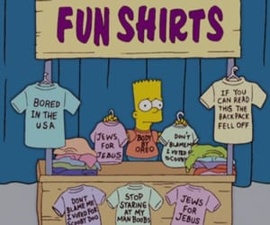 90s, clothers, and bart simpsons image