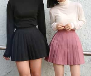 clothes, black, and girls image