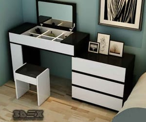 bedrooms, table designs, and table bedrooms image