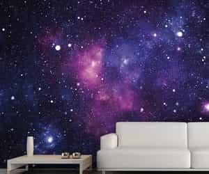 galaxy, room, and beautiful image