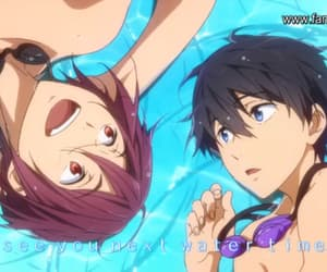 free, rin, and haru image