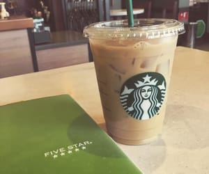 coffee, college, and green image