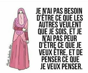 femme, hijab, and power image