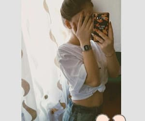 casio, mirror, and outfits image