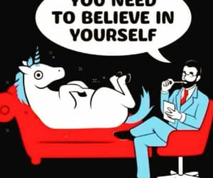 aww, unicorn, and believe image