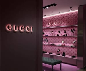 gucci, pink, and fashion image