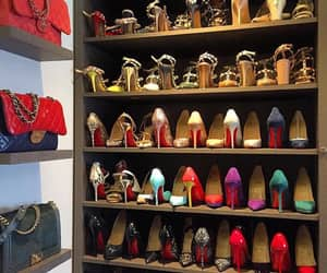 closet, heels, and luxury image
